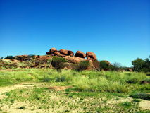 Devils Marbles Australia Royalty Free Stock Photo