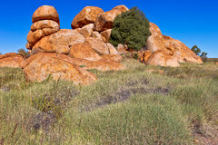 Devils Marbles, Australia. Stock Photo