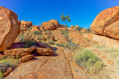 Devils Marbles, Australia. Royalty Free Stock Photography