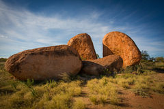 The Devils Marbles Conservation Reserve Royalty Free Stock Photo