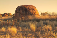 Devils Marbles Stock Image