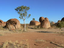 The Devils Marbles Stock Images