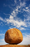 Devils Marbles. The Devils Marbles in the Northern Territory of Australia are a geological marvel Stock Photo