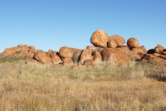 Devils Marbles, Northern Territory, Australia Royalty Free Stock Photography