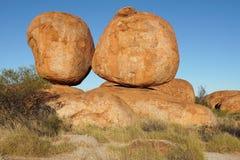 Devils Marbles, Northern Territory, Australia Stock Photos