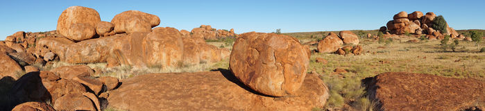 Devils Marbles, Northern Territory, Australia Stock Photos