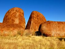 Devils Marbles, Nothern Territory, Australia Royalty Free Stock Photo