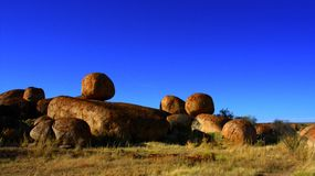 Devils Marbles, Nothern Territory, Australia Royalty Free Stock Images