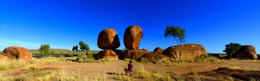 Devils Marbles, Nothern Territory, Australia Stock Photo
