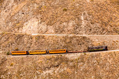 Devils Nose Train Route Horizontal Stock Photography