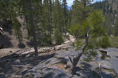 Devils Postpile Royalty Free Stock Images