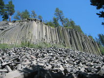 Devils Postpile royalty free stock photos
