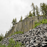 Devils Postpile National Monument Royalty Free Stock Image