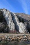 Devils Slide, Utah. Devils slide rock formation in Weber Canyon Royalty Free Stock Photo
