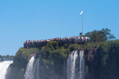 Devils Throat Foz do Iguassu Argentina Brazil Royalty Free Stock Photos