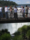 Devils Throat Foz do Iguassu Argentina Brazil Royalty Free Stock Images