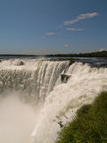 Devils Throat, Iguacu Falls, Brazil. Royalty Free Stock Photography