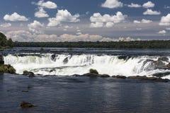 Devils Throat in Iguassu Falls Argentina Brazil Stock Image