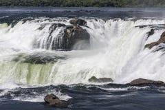Devils Throat in Iguassu Falls Argentina Brazil Royalty Free Stock Photos