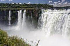 Devils Throat in Iguassu Falls Argentina Brazil Royalty Free Stock Images
