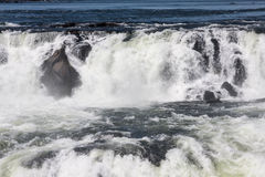 Devils Throat in Iguassu Falls Argentina Brazil Royalty Free Stock Images