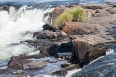 Devils Throat in Iguassu Falls Argentina Brazil Royalty Free Stock Photo