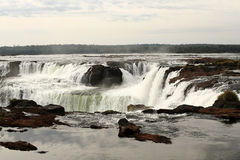 Devils Throat of Iguazú Falls Stock Photography