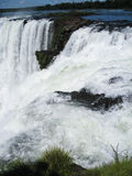 Devils Throat Waterfall Argentina and Brazil Royalty Free Stock Photo