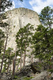 Devils Tower. National Monument in Wyoming Stock Photography