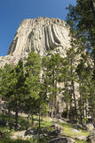 Devils Tower. National Monument in Wyoming Royalty Free Stock Images