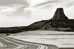Devils Tower Royalty Free Stock Images