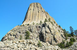 Devils Tower Royalty Free Stock Photo
