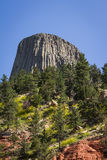 Devils Tower Royalty Free Stock Photography