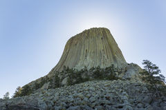 Devils Tower Stock Image