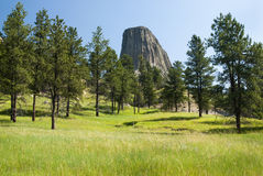 Devils Tower National Monument Royalty Free Stock Photos