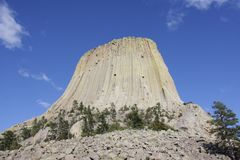 Devils Tower National Monument Royalty Free Stock Photo
