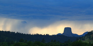 Devils Tower National Monument Stock Image