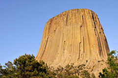 Devils Tower National Monument Royalty Free Stock Images