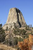 Devils Tower National Monument, Wyoming Stock Photo