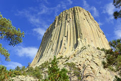 Devils Tower National Monument, Wyoming Royalty Free Stock Image