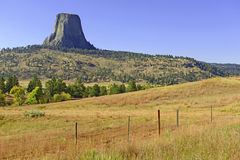 Devils Tower National Monument, Wyoming Royalty Free Stock Photography