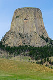 Devils Tower National Monument, Wyoming, USA Stock Photography