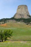Devils Tower National Monument, Wyoming, USA Royalty Free Stock Image