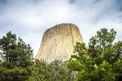 The Devils Tower National Monument Royalty Free Stock Images