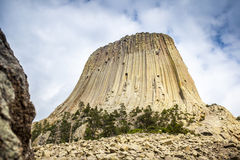 The Devils Tower National Monument Royalty Free Stock Image