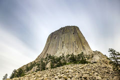 The Devils Tower National Monument Royalty Free Stock Photos