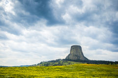 The Devils Tower National Monument Stock Photography
