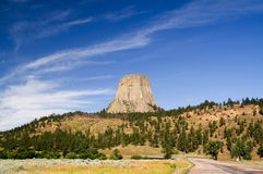 Devils Tower, Wyoming Stock Images