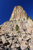 Devils Tower in Wyoming Stock Images