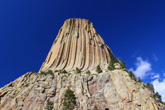 Devils Tower in Wyoming Royalty Free Stock Images